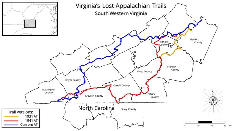 Virginia's Lost Appalachian Trail
