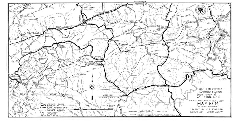 Southern Virginia, Southern Section (1941)